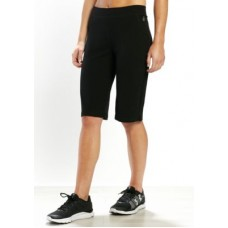 be inspired Women Basic Knee Short Black CYDJVWY