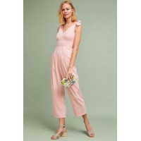 Anthropologie Women Maud Tied Jumpsuit PINK An Anthropologie exclusive Rayon lyocell; acetate lining 4123204590214 ADNMUVY