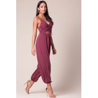 Women Indio Vibing Jumpsuit Dark Rose 103305026 AANHREI