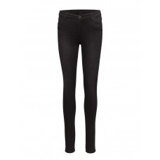 2nd One Women Nicole 004 Black Venice Jeans Skinny Button and zip closure 13767006 NTHMLOT