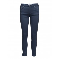 2nd One Women Nicole 006 Crop Tide Split Jeans Slim-fit Button and zip closure 16648687 SVYPOWZ