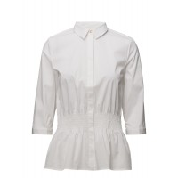 Selected Femme Women SFCAMILLE 3/4 SMOCK SHIRT Classic/ Regular Concealed button closure 17399180 HAWMTCJ
