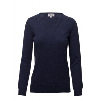 Davida Cashmere Women Basic sweater V-neck Classic/ Regular Timeless and versatile design 18158868 XXFDHRL