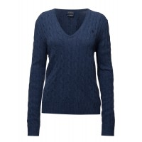 Polo Ralph Lauren Women Cable Wool-Cashmere Sweater Cable knit 16133583 KOIWGDX