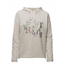 Esprit Casual Women Sweatshirts Attached drawstring hood 16624614 TMIUWYF