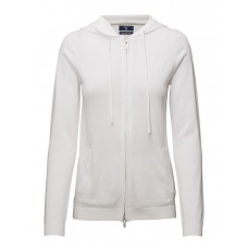 GANT Women LT WT COTTON ZIP HOODIE Comfortable and soft 16835369 PGAGEOO