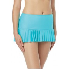 Beach House Women Sophie Pleat Swim Skirt Blue Crush AGXMEWU