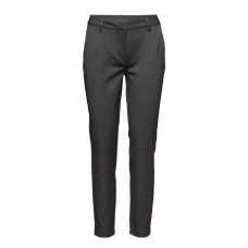 2nd One Women Carine 111 Dark Melange Pants Regular Stretch fabric 14498350 YBPPMXB