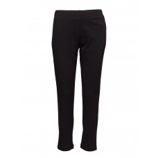 2nd One Women North 810 Black Waffle Pants Slim-fit Straight leg 16648753 NUKICIW